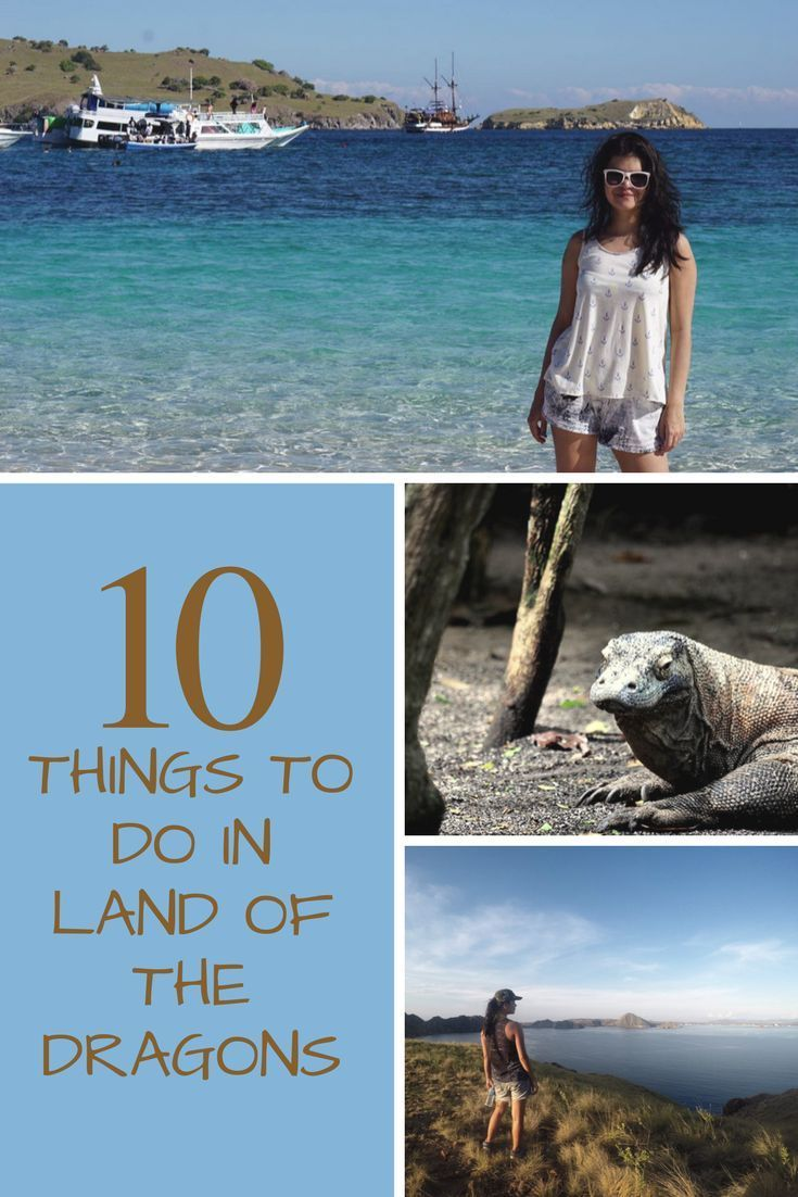 """I am sure you all often wonder """"What are the things to do in Komodo Island"""".. I mean ofcourse apart from seeing the Komodo dragons? Well here are 9 more reasons to visit Komodo Island (aka Labuan Bajo) in Indonesia -https://wanderwithjo.com/things-to-do-in-labuan-bajo/ Attractions in Komodo Island l Visit Komodo islandl Labuan Bajo things to do l Where to find Komodo Dragaons"""