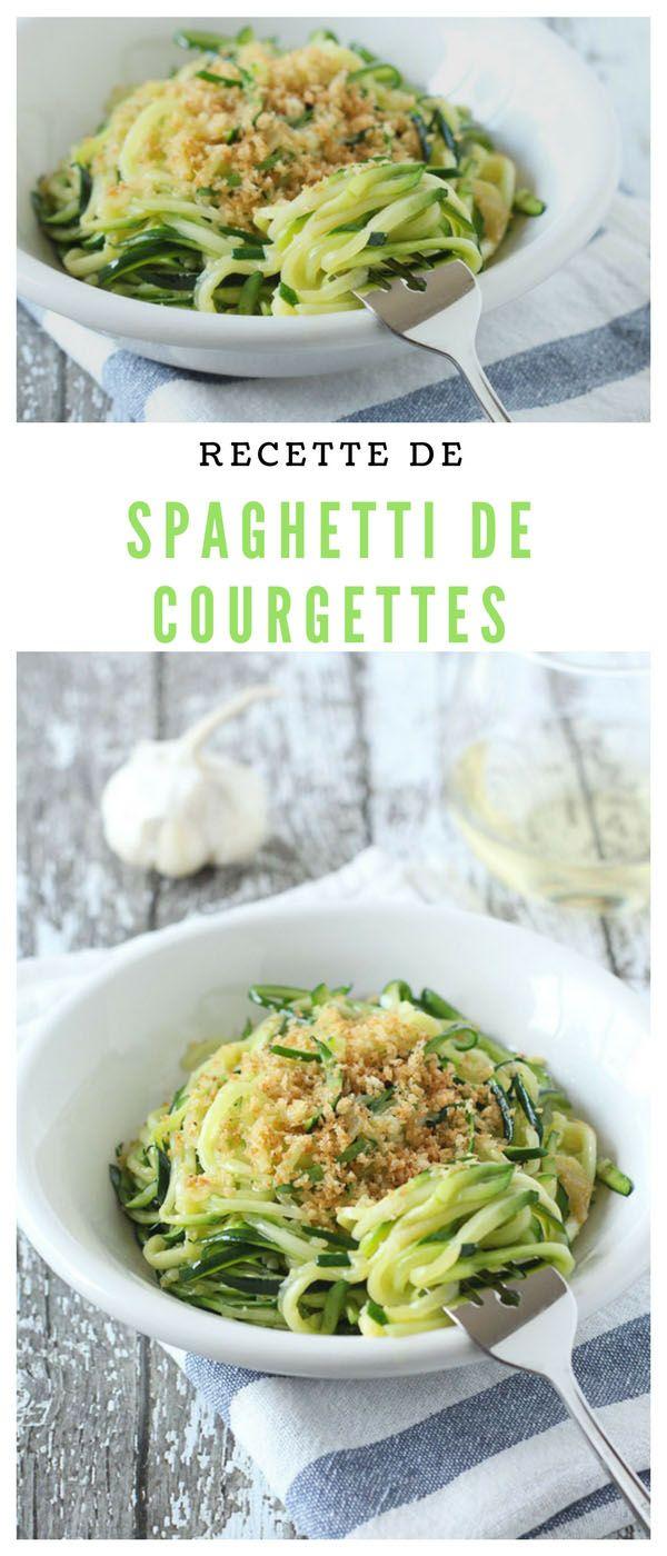#spaghetti #courgettes #végétarien