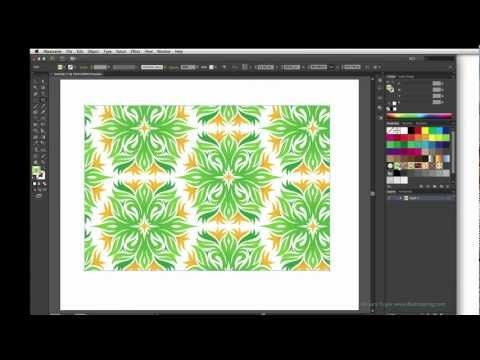 Illustrator Tutorial: Scaling Patterns with the Tilde key