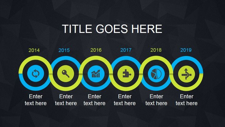 Simple Animated Timeline Template for PowerPoint presentations on Project Planning and Management #PowerPoint #Animated #templates
