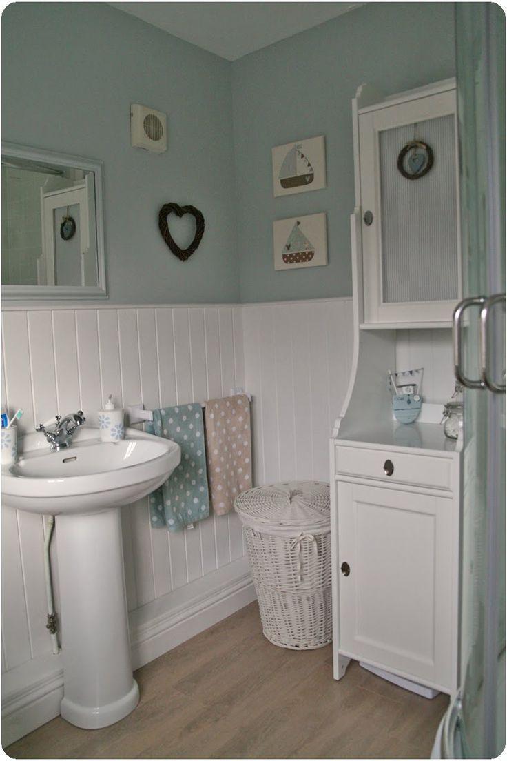 Blue cottage bathrooms - Bathroom Skylight Farrow Ball