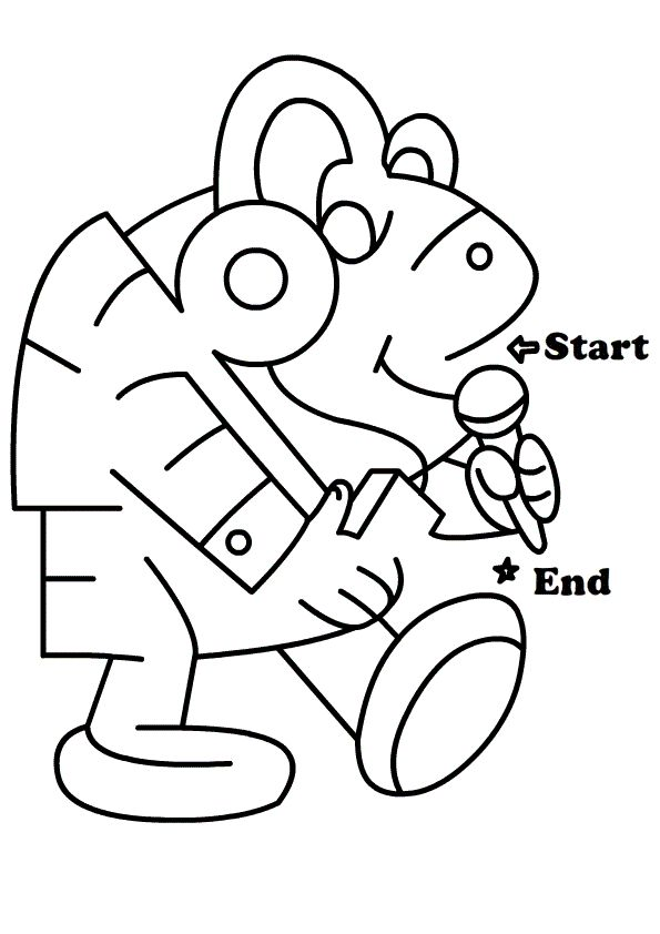 Maze Worksheets for Preschoolers