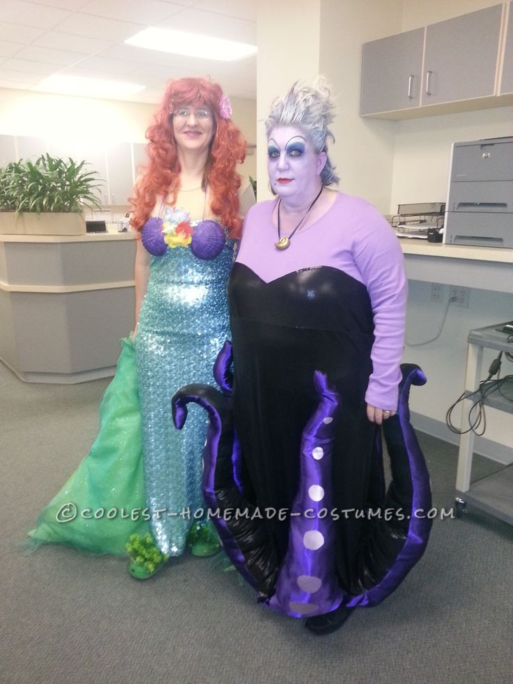 Adult Plus Size Costumes: Cool Homemade Ursula Costume