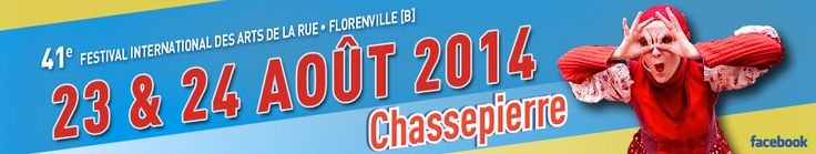 Chassepierre - International Festival of Street Arts 23-24/8, פסטיבל בין-לאומי לאמנויות רחוב