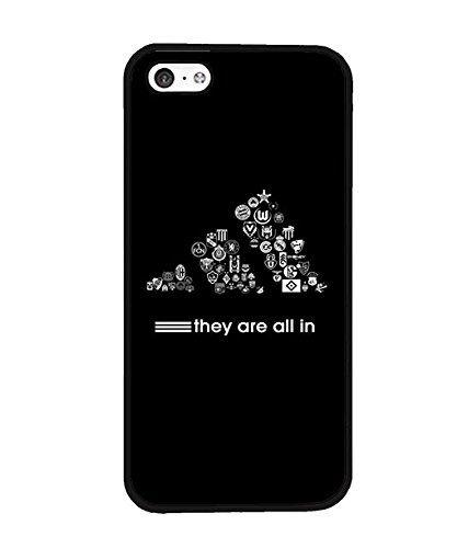 Marca Adidas Logo iphone 5C caso, personalizado resistente a los arañazos carcasa para iPhone 5C, compatible con Apple iPhone 5C, color multicolor - http://www.tiendasmoviles.net/2016/12/marca-adidas-logo-iphone-5-c-caso-personalizado-resistente-a-los-aranazos-carcasa-para-iphone-5-c-compatible-con-apple-iphone-5c-color-multicolor/