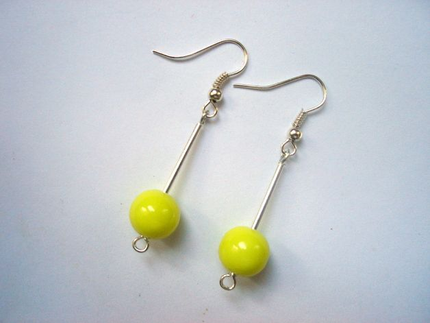NEONS ON STICKS 2 - earrings http://en.dawanda.com/shop/Ocelotka