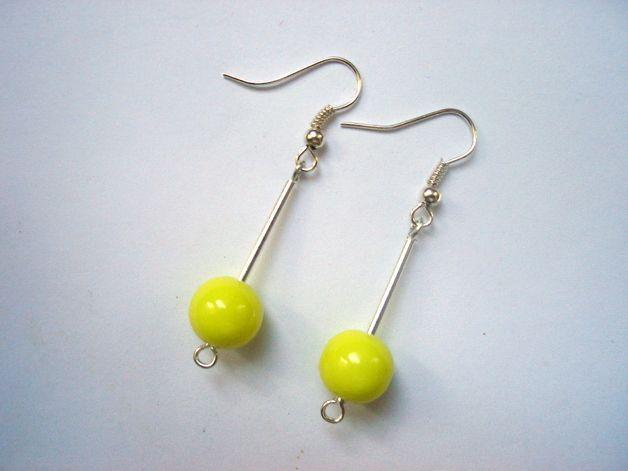 NEONS ON STICKS 2 - earrings http://en.dawanda.com/shop/Ocelotka