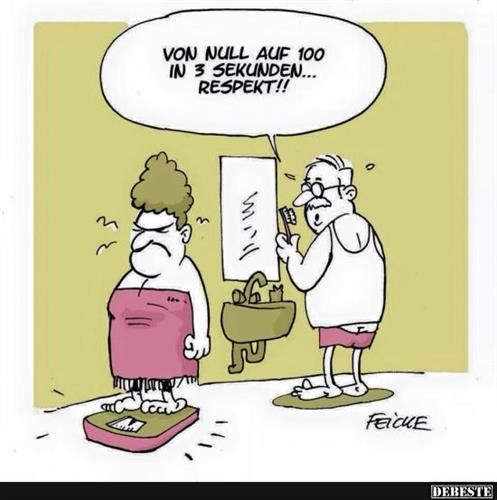 DER ist gut - hahaha!