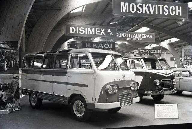 1957 Raf-08 Spriditis & 1957 Raf 977 Latvia