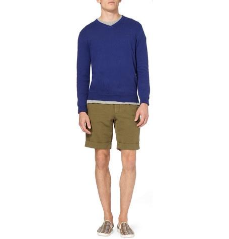 Aubin & WillsWellesbourne V-Neck Cotton and Cashmere-Blend Sweater: Wills Wellesbourne, Wellesbourne V Neck, Men'S Clothing, V Neck Cotton, Designer Clothing