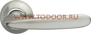 Дверная ручка раздельная Pava LD42-1SN/CP-3 матовый никель/никель - Магазин дверной фурнитуры