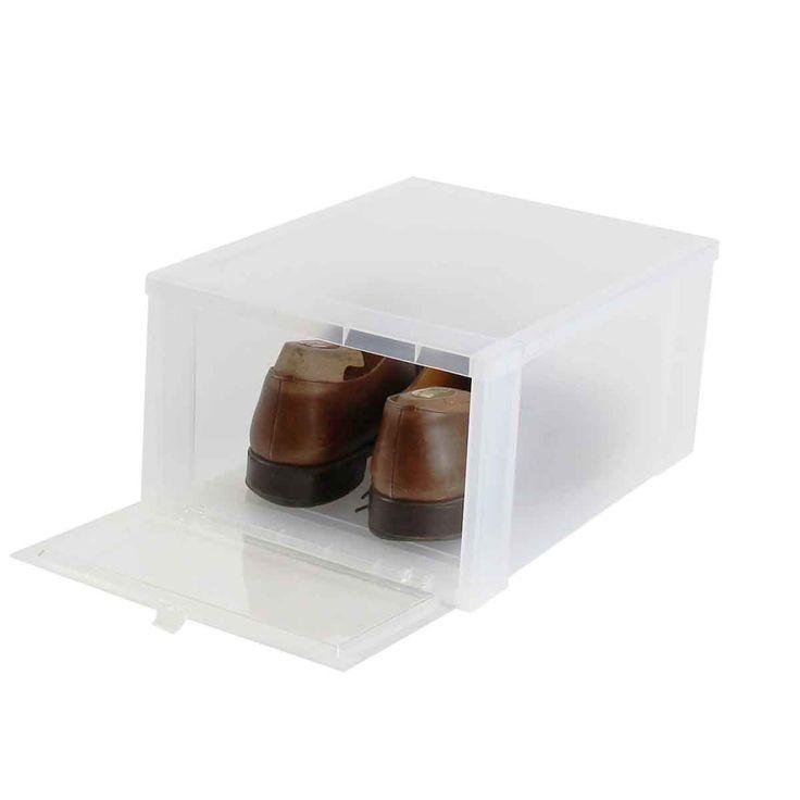 1000 id es sur le th me boite rangement plastique sur pinterest boite range - Boite de rangement chaussure ...