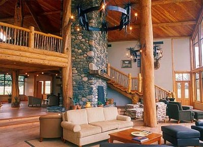 The most beautiful houses in the world natural log homes for The most beautiful houses in the world interior
