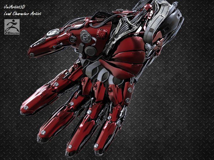 Hand Cyborg , jeison silva on ArtStation at https://www.artstation.com/artwork/GzAJa