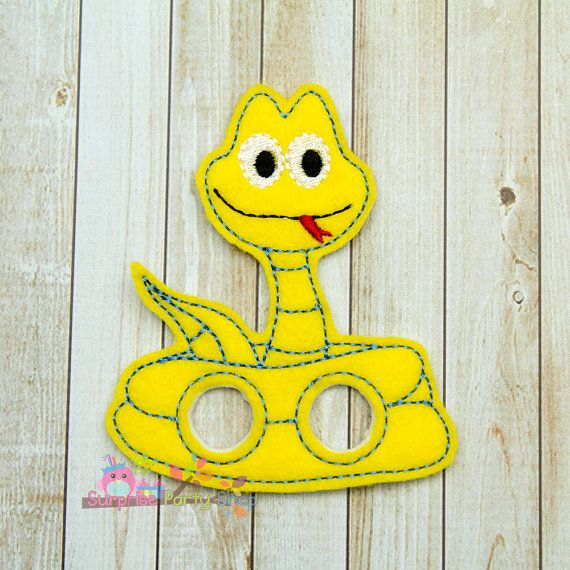 Snake Finger Puppet Imaginative Play Baby by SurprisePartyShop