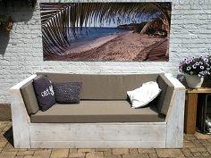 Lounge sofa garten  8 best Bauholz Sofa (garten, lounge) images on Pinterest   Outdoor ...