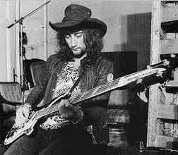 Roger Glover with his Rickenbacker.