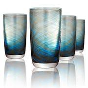 Artland Misty 4-pc. Highball Glass Set