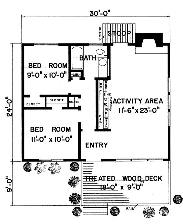 17 best images about small house floor plans on pinterest for 720 sq ft apartment floor plan