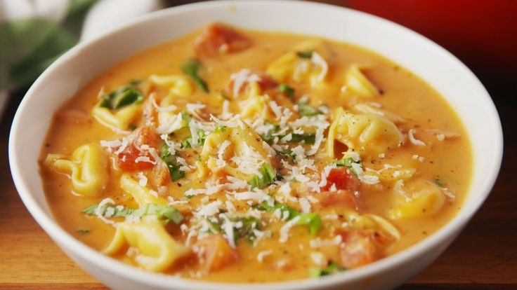Creamy Parm Tomato Soup