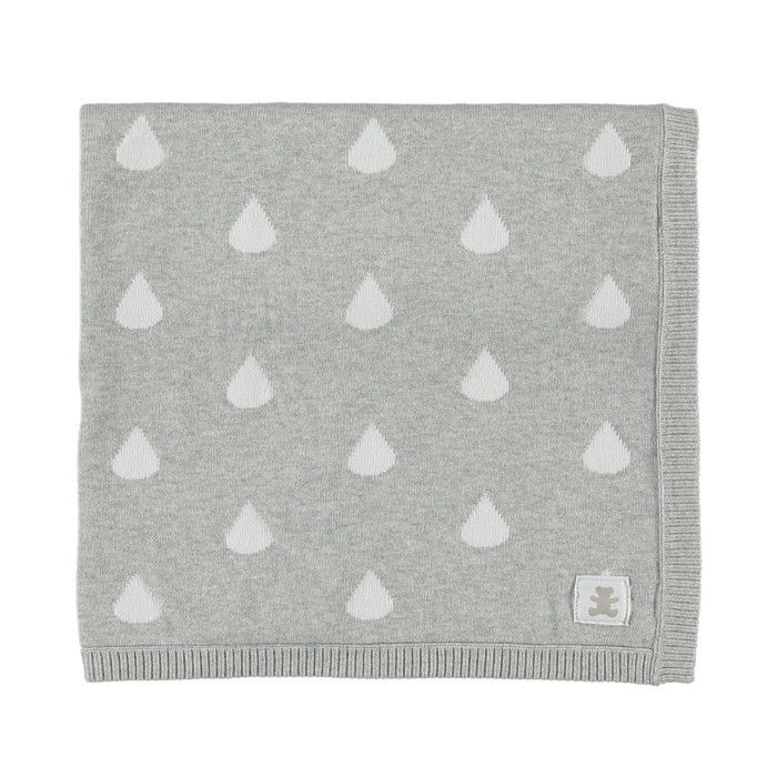 Raindrop Cotton Blanket