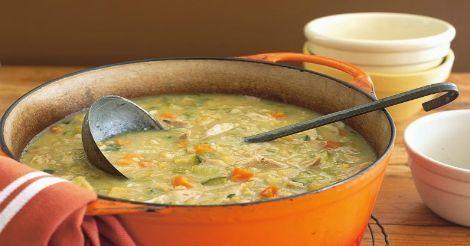 weight watchers best recipes   Chicken Vegetable Soup (3 Points+) - weight watchers recipes