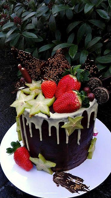 Čokoládovo-ovocná