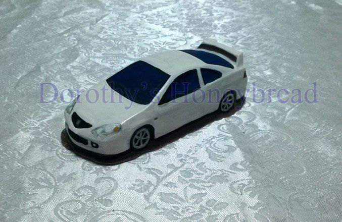 Small scale CHOCOLATE Honda Integra DC2 (painted). ~12cm long, ~100g. Milk, dark, white chocolate. To order please send us a text message or email to: dorothys.honeybread@gmail.com www.dorothyshoneybread.com  #dorothyshoneybread #chocolate #chocolatecar #hondaintegradc2 #handmaide #honda #integra #hondaintegra #integradc2 #christmas #gift #chocolatecake #chocolatemodel #choco #chocolatehonda #chocolatehondaintegra #chocolatehonaintegradc2 #chocolateintegra #chocolateintegradc2