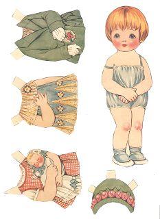 Miss Missy Paper Dolls: Dolly Dingle's Friend Returns