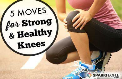 5 Inteligentné cvičenia na podporu kolená | SparkPeople