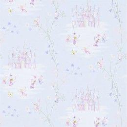 Sanderson Fairy Castle Wallpaper - 214045