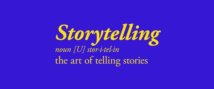 De kunst van verhalen vertellen