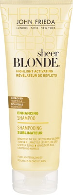 Great shampoo for making dull bonde hair mice and shiny again.