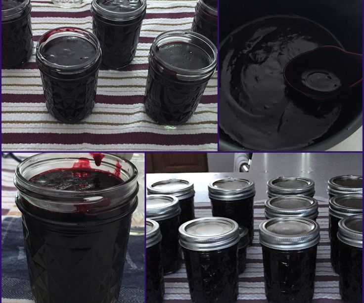 Seedless Black Raspberry Jam