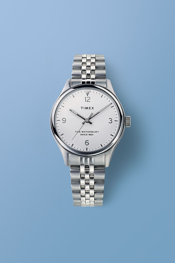 ee5aff5ae Waterbury Women's 34mm Stainless Steel Watch | Timex For Women in ...