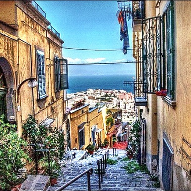 The Stairs of Naples keep calm  by Lucio Boccalatte, via Flickr
