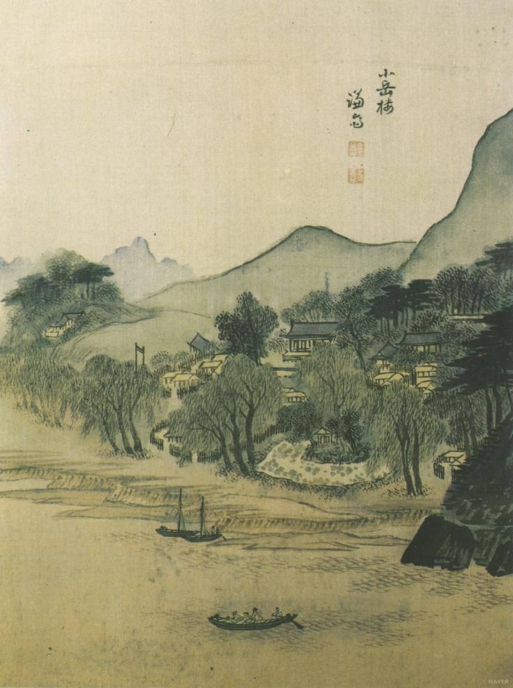 겸재 정선(Jung Sun 鄭敾) 소악루