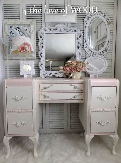 HOW TO MAKE A FRENCH VANITY - 4 the love of wood