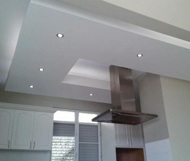 Remodelaciones y fascias en arkitektonia gypsum pinterest - Plafones de cocina ...
