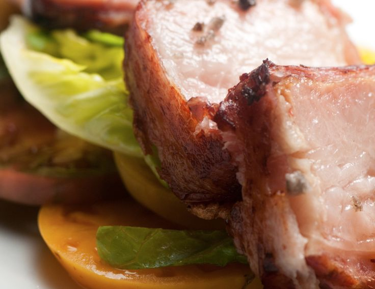 Bacon-Wrapped Bacon: Fig, Santa Monica. There is no such thing as too close.