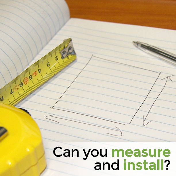 Can you measure and install? #measure #blinds #window