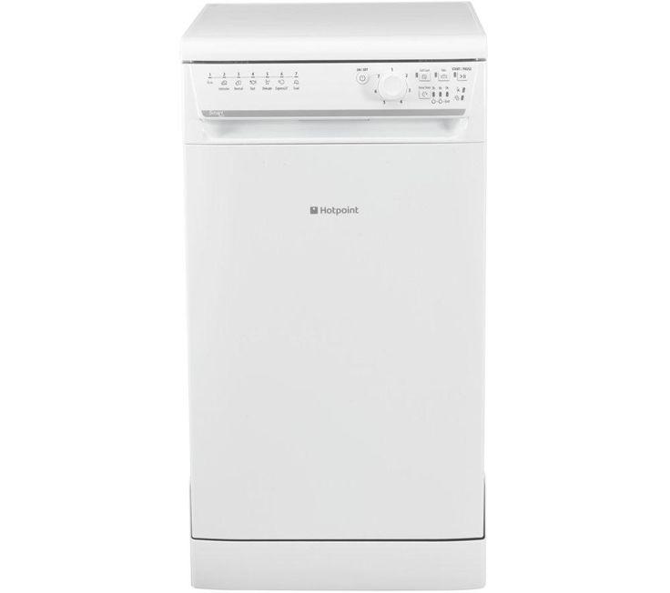 HOTPOINT SISML21011P Slimline Dishwasher - White