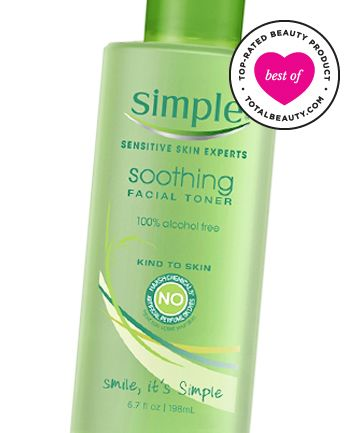 Best Toner No. 16: Simple Soothing Facial Toner, $6.99 (I use this every day! Love!)