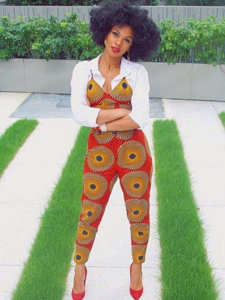 Its African inspired. ~African fashion, Ankara, kitenge, Kente, African prints, Senegal fashion, Kenya fashion, Nigerian fashion, Ghanaian fashion ~DKK: