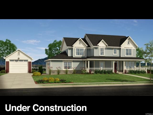 2246 N 3430 Street #2, Clinton  4 Bedrooms | 2.5 Bathrooms | 4,232 Sq Ft | $534,900  Home is currently under construction. Call Agent to walk through home and discuss finishes. Home has a 2 car attached garage as well as a large 2 car detached garage or shop. 1 acre lot with incredible mountain views. Per Clinton city and CCR's, animals are permitted. Call sales agent for details. Square footage figures are provided as a courtesy estimate only and were obtained from building plans.