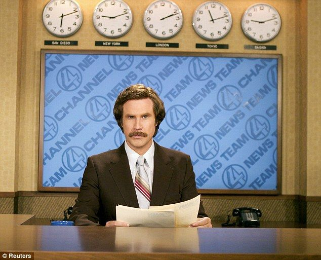 Will Ferrell will help cover Canada's Olympic curling trials this week as his Anchorman character, Ron Burgundy