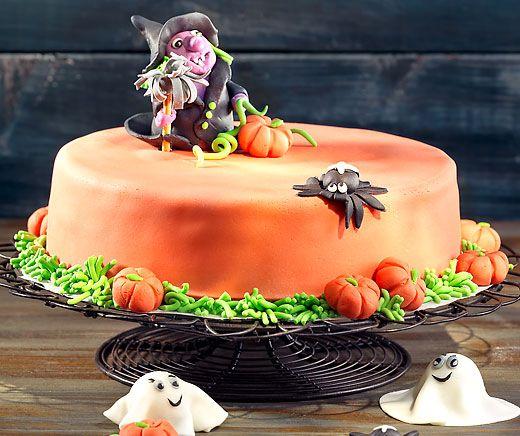 Monatsrezept Nr. 4: Halloween-Torte. Süsses oder Saures? Natürlich Süsses!!!  #Rezept #Torte #Halloween