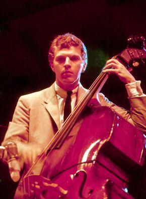 Scott LaFaro at the Newport Jazz Festival, July 1961