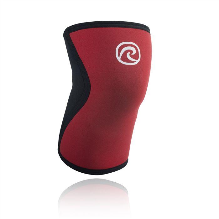 Rehband 5mm 'Froning Series' Knee Sleeve - Red/Single