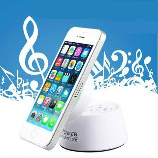 Mini Sucker Speaker Flip Stereo Speaker For Mobile Phone Random Ship